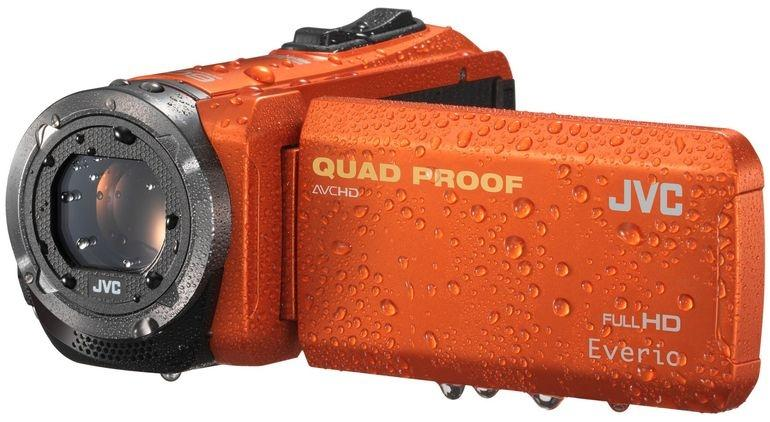 JVC lançou novas filmadoras super-resistentes
