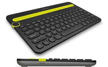 Novo teclado pode ser conectado em até 3 gadgets
