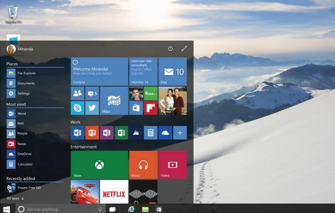 Windows 10 será lançado em 29 de julho