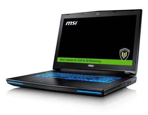 MSI WT72 – Novo Notebook Profissional conta com Nova Placa de Vídeo da Nvidia