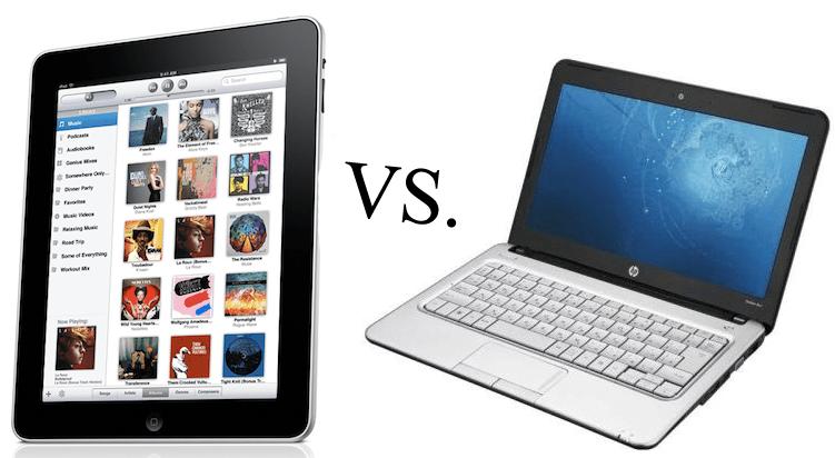 Tablet x Notebook – Qual é Melhor